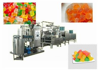 Gummy Bear Pectin Candy Making Machine High Efficiency Customized Voltage