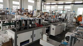 Disposable Automatic Face Mask Making Machine / N95 Kn95 Fpp2 Mask Making Equipment